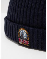Parajumpers - Blue Mens Beanie Navy for Men - Lyst
