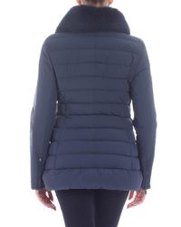 "Peuterey - Blue ""misae Ag"" Avio-color Down Jacket - Lyst"