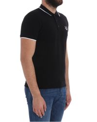 KENZO - Black Tiger Polo for Men - Lyst