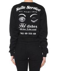 Chiara Ferragni - Black Suite Service Sweatshirt - Lyst