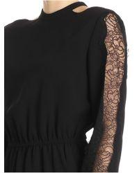 Pinko - Black Giubilare Dress - Lyst