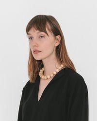 Saskia Diez - Multicolor Wood Necklace Big - Lyst
