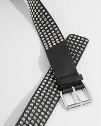 IRO - Black Stanka Belt for Men - Lyst