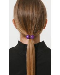 Saskia Diez - Multicolor Wood Hair Tie - Lyst