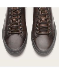 Frye | Gray Grand Low Lace for Men | Lyst