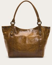 Frye - Brown Melissa Leather Hobo Bag - Lyst