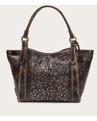 Frye | Brown Deborah Shoulder | Lyst