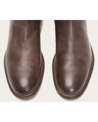 Frye - Gray Chris Inside Zip for Men - Lyst