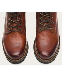 Frye - Brown Roland Lace Up for Men - Lyst