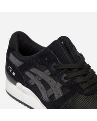 Asics - Black Gel - Lyte Iii for Men - Lyst