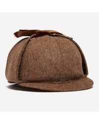 Olney | Brown Tweed Sherlock for Men | Lyst