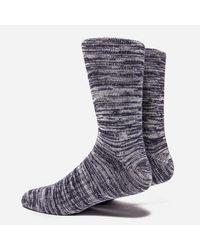 Norse Projects - Blue Bjarki Blend Socks for Men - Lyst