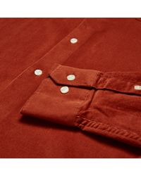Barbour - Red Morris Shirt for Men - Lyst