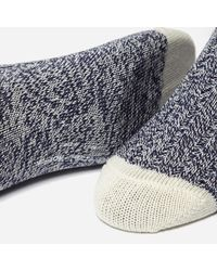 Universal Works - Blue Stratos Navy Socks 6503 for Men - Lyst