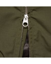 Engineered Garments - Green Aviator Jacket - Nyco Ripstop for Men - Lyst