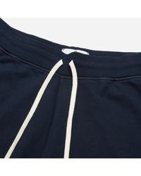 Reigning Champ - Blue Sweat Short for Men - Lyst