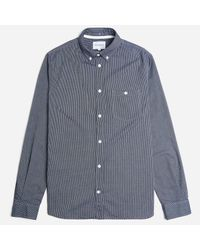 Norse Projects - Blue Anton Oxford Stripe Shirt for Men - Lyst