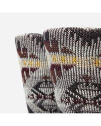 Anonymous Ism - Gray Wigwam 85 Socks for Men - Lyst