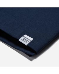 Norse Projects - Blue Esben Blind Stitch Ss T-shirt for Men - Lyst