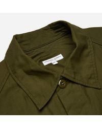 Engineered Garments - Green Field Shirt for Men - Lyst