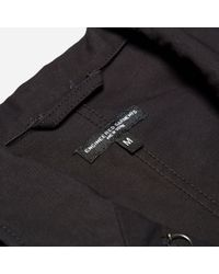 Engineered Garments - Black Bedford Jacket - Cotton Double Cloth - Lyst