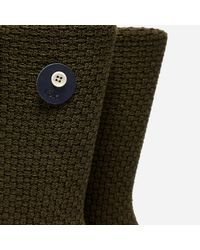 Folk - Green Waffle Socks for Men - Lyst