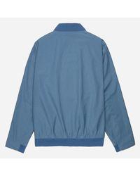 Norse Projects - Blue Ryan Crisp Cotton Jacket for Men - Lyst