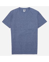 NN07 - Blue Barry Pocket Tee for Men - Lyst