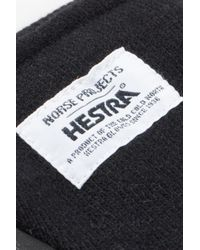Norse Projects - Gloves Norse X Hestra Svante Black for Men - Lyst