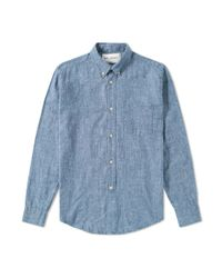 Our Legacy | Our Legacy Shirt 1940 Chambray Blue for Men | Lyst