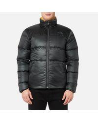 The North Face Gray Nuptse Iii Jacket for men