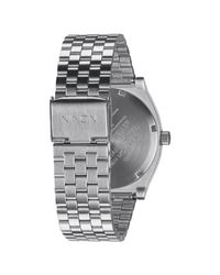 Nixon - Metallic Time Teller Deluxe Watch - Lyst
