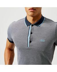 BOSS Green - Blue Paule 4 Polo Shirt for Men - Lyst