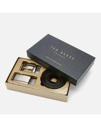 Ted Baker - Multicolor Burrgs Belt In A Box for Men - Lyst