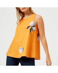 BOSS Orange - Orange Kaviva Top - Lyst