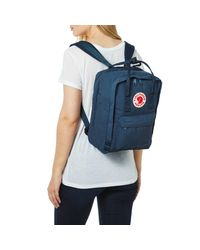 "Fjallraven - Blue Kanken Laptop Backpack 13"" for Men - Lyst"
