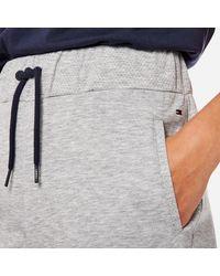 Tommy Hilfiger - Gray Logo Pants - Lyst
