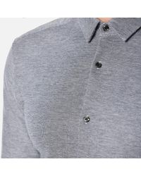 HUGO - Blue Men's Ero3 Long Sleeve Shirt for Men - Lyst