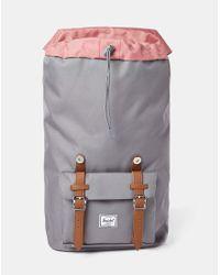 Herschel Supply Co.   Gray Little America Backpack Grey for Men   Lyst