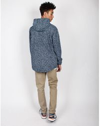 Timberland - Blue Navy/White Neptune-3M Speckle Anorak for Men - Lyst