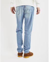 Levi's - Brown 501 Customized And Tapered Old Spitalfields Jean for Men - Lyst