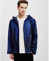 HUNTER | Blue Original Vinyl Windcheater Jacket Navy for Men | Lyst