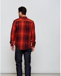 Levi's - Multicolor Shorthorn Plaid Shirt Red for Men - Lyst