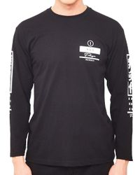 The Idle Man - Unconditional Long Sleeve T-shirt Black for Men - Lyst