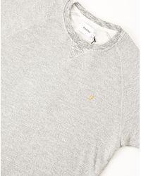 Farah - Natural Morton Short Sleeve Sweatshirt for Men - Lyst