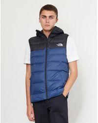 Lyst - The North Face West Peak Down Vest Blue in Blue for Men 34cca0320