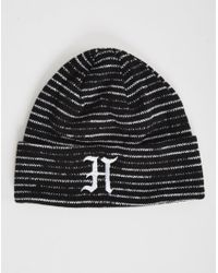 The Hundreds | Lex Beanie Black for Men | Lyst