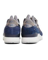 Asics - Blue Gel-lyte Iii Trainer Navy for Men - Lyst