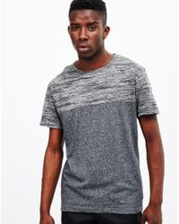The Idle Man - Gray Cut And Sew T-shirt Grey for Men - Lyst