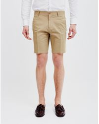 Vito - Brown Lawson Ike Shorts Sand for Men - Lyst